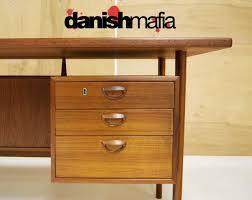 modern credenza furniture. Outstanding Huge Mid Century Danish Modern Teak Office Desk 3 Contemporary White Credenza Furniture D