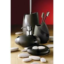 modern bathroom accessories. Modern Bathroom Accessories Stone Made Out Of Pottery Range Includes Chrome Bath R