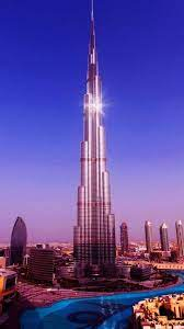 1125x2436 Dubai Burj Khalifa Minimalist ...