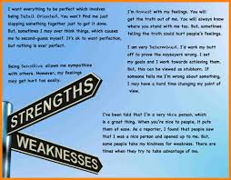 personal strengths and weaknesses essay address example personal strengths and weaknesses essay strength weakness 1024×796 jpg caption