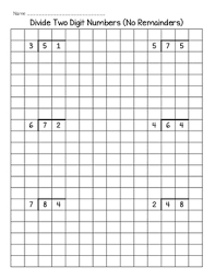 Long Division On Graph Paper Magdalene Project Org