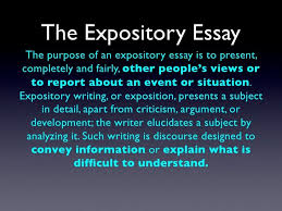 Define Expository Essay Writing Workshop Expository College Essay Mrs Guillorys