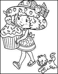 Small Picture 40 best Strawberry Shortcake images on Pinterest Coloring