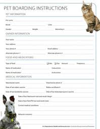 Pet Sitting Instructions Template Pet Disaster Preparedness Kit Healthy Pets Healthy People