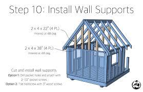 diy playhouse plans step 10