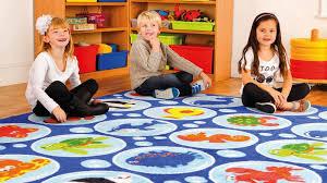 under the sea rectangular placement carpet school equipment supplier school carpets school rugs classroom rugs