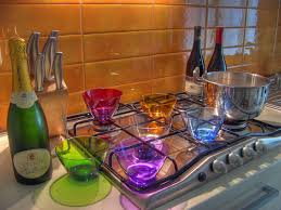 Colorful Kitchen Bright Colored Kitchen Colorful Kitchen Backsplash Colorful