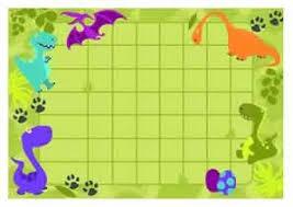 Dinosaur Reward Charts And Stickers For Boys Kids Arts