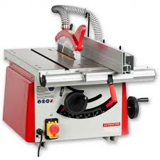 table saw. axminster hobby series ts-200-2 table saw a