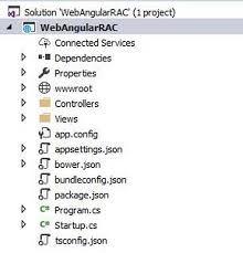 Setting Up Angular Project With ASP.NET Core And Visual Studio 2017