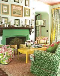 Spring Green Living Room | El diseno