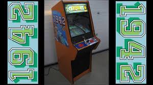 1942 Arcade Cabinet Arcade Video Game Cabinet Restoration Nsm Top Game Capcom 1942