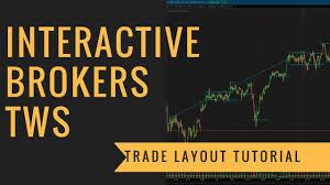 Interactive Brokers Chart Tutorial Interactive Brokers Tws Trade Layout Tutorial