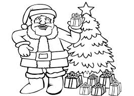 Small Picture Coloring Pages Santa Claus For Kids Free Printable To Print