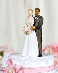 32 best interracial wedding cake topper images on pinterest Wedding Cake Toppers Ginger Groom caucasian bride and african american groom porcelain wedding cake topper figurine Funny Wedding Cake Toppers