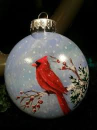 Hand Decorated Christmas Balls Hand Painted Ornament Holidays Craft Ideas Pinterest Hand 77