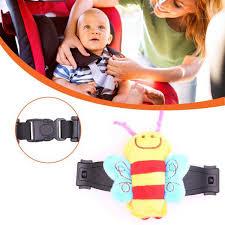 <b>1pc Cartoon</b> Bee Durable Black Car Baby Safety <b>Seat Strap</b> Belt ...