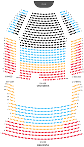 Kings Theatre Seating Chart With Seat Numbers