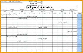 Work Shift Schedule Template Monthly Employee Shift Schedule Template Work Multiple Danielmelo Info