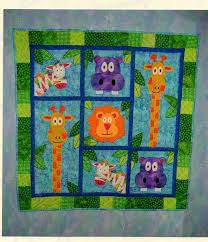 25+ unique Baby quilts to make ideas on Pinterest | Quilting ideas ... & baby quilt patterns - The family zoo! Adamdwight.com