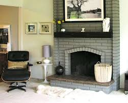 painting brick fireplace image of modern painting brick fireplace ideas white brick fireplace with black grout painting brick fireplace