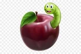Gambar sketsa apel merah terlihat keren. 27 Gambar Kartun Ulat Buku Koleksi Kartun