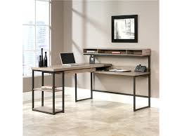 office desk at walmart. Corner L Shaped Office Desk With Hutch Black And Cherry Walmart Devonshire Walnut Home At