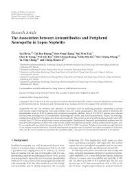 pdf the ociation between autoantibos and peripheral neuropathy in lupus nephritis