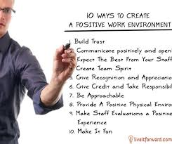 Motivational Monday 40 Ways To Create A Positive Work Environment Stunning Positive Work Environment Quotes
