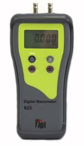 digital manometer. 623 dual input high resolution digital manometer