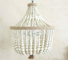 wooden beads turned wood chandelier turquoise ceiling lights beaded blue chande