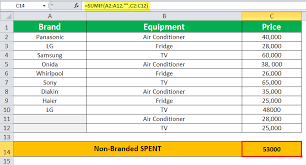 Sumif In Excel Formula Examples How To Use Sumif Function