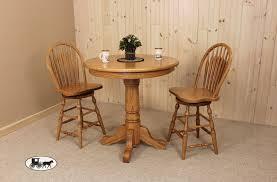 rustic quartersawn oak counter set