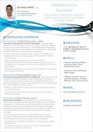 Administrative Assistant Resume Builder Word Template Free All