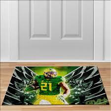 home oregon ducks player 21 rug football ncaa collage floor durable door mat non slip