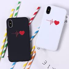 cute love heart shape soft silicone phone case fundas coque cover for iphone 5 5se 7 7plus 6 6s 8 8plus x cell phone pouch personalized cell phone