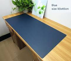 desks custom clear desk pad transpa cutting mat table cover vinyl protector com with regard to