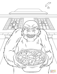 Small Picture Goosebumps coloring page Free Printable Coloring Pages