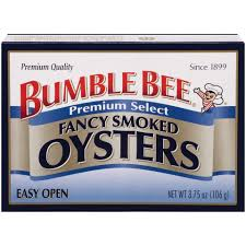 ble bee tuna and seafood s ble bee smoked oysters
