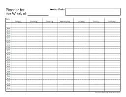 Daily Checklist Planner Personal Daily Planner Template Schedule Excel Download Ooojo Co