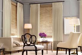Window Coverings Living Room Install Modern Window Treatments For Protection Against Sun And