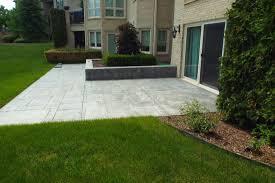 Landscape Design Birmingham Mi How We Transformed A Northville Michigan Plain Old Patio