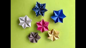 Origami Stern Falten Nr3 By Die Kreativecke
