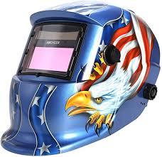 WOOKRAYS <b>Welding Helmet Solar Auto-Darkening Welding Helmet</b> ...