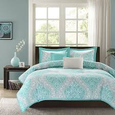 grey and teal bedroom laminated floor double layers curtains white intended for incredible residence bedroom curtain and bedding sets plan