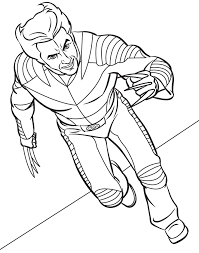 Small Picture Wolverine coloring pages provide the perfect plot to the young