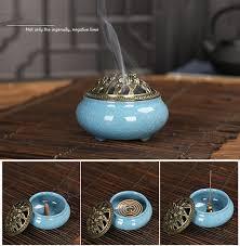 Celadon Ceramic <b>Incense</b> Burner <b>Antique</b> Alloy Embalming <b>Incense</b> ...