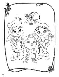 Small Picture Jake And The Neverland Pirates Coloring Pages To Print FunyColoring
