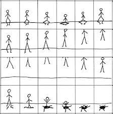 stickman flip book ideas 23 best animeren in een flipboekje images on
