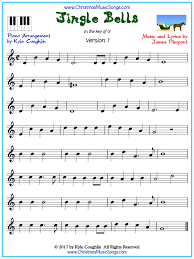 For more simple sheet music for kids and free printable music education resources, check out my pinterest board below. Jingle Bells Piano Sheet Music Free Printable Pdf